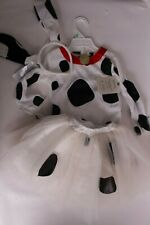 NWT Pottery Barn Kids Dalmation Tutu Halloween costume 3T puppy dog *tiny spot*