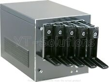 CFI A6039 Mini-ITX NAS Server Case with 5 Hot-Swappable HDD/SSD Trays 300W PSU