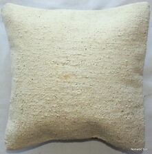 (35*35CM, 14 INCH) Handmade Boho pillow cover undyed natural
