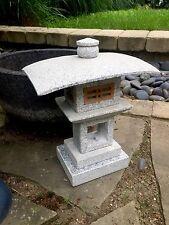 "15"" Kanjuji Japanese  Carved Granite Garden Lantern Stone pagoda"