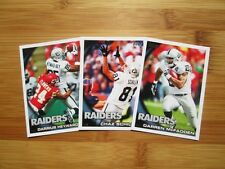 2010 Topps Football Oakland Raiders TEAM SET - (16) Cards