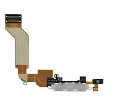 Dock Connector Charging Port Flex Cable for iPhone 4S White