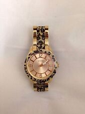 GUESS Animal Print Sport Gold Water Pro Watch