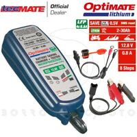 CARICABATTERIE MANTENITORE DI CARICA OPTIMATE LITHIUM 4S 0.8A BATTERIE A LITIO