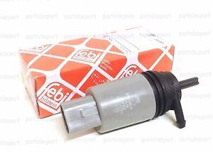 Windshield Washer Squirter Pump 67127302589 Febi Bilstein for BMW Brand New