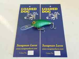 """Swagman Lures """"Loaded Dog"""" chubby diver for yellas, redfin, estuary colour 9"""