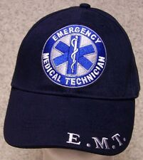 Embroidered Baseball Cap Emergency Medical Technician EMT NEW 1 hat size fit all