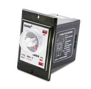 Time relay AH2-Y pointer delay relay AH2-Y2 knob type time relay