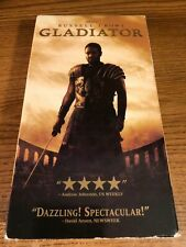 Gladiator Vhs Vcr Video Tape Movie Russell Crow Joaquin Phoenix Used