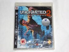 NEW PAL Uncharted 2 Among Thieves Playstation 3 Game SEALED European PAL FORMAT