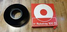 GAF Rototray 100 Black Universal Carousel Projector Slide Holder Grade A
