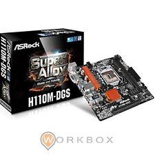 SCHEDA MADRE MB Asrock H110M-DGS Intel H110 LGA1151 Micro ATX motherboard