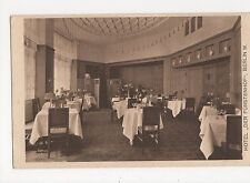 Germany, Berlin, Hotel Der Furstenhof Advert Postcard, B023