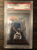 1994 Topps Finest Shaquille O'Neal PSA 10 Magic Lakers Heat