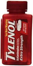 Tylenol Extra Strength Acetaminophen for Pain Reliever Fever Reducer 325 Caplets
