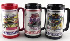 NSRA Street Rod Nationals North Kalamazoo MI East PA Thermal Drinking 3 Cup Lot