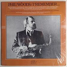 PHIL WOODS I Remember SEALED rare ORIGINAL composed by GRYPHON