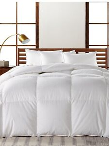 Hotel Collection European White Goose Down Heavyweight King Comforter