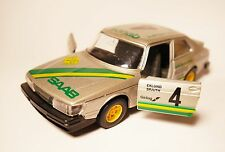 SAAB 900 TURBO-Swedish Rally RALLY 1982 Eklund/Spjuth #4, Bburago 1:27 < 24!