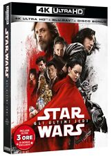 STAR WARS 8 - Gli Ultimi Jedi (BLU-RAY 4K UHD + BLU-RAY) Tom Hardy, Daisy Ridley
