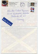 50381 - Kanada - Beleg - 13.8.2001 nach Eisleben
