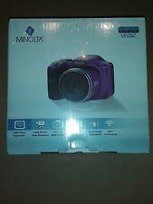 Minolta MN35Z-P 20.0-Megapixel 1080p Full HD Wi-Fi MN35Z Bridge Camera with 35x