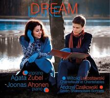 CD AGATA ZUBEL JOONAS AHONEN Dream Lake CZAJKOWSKI LUTOSLAWSKI