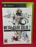 Metal Gear Solid 2: Substance - Microsoft XBOX OG Game - 1 Owner Near Mint Disc!