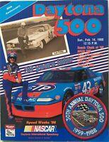 1988 DAYTONA 500 30th Anniversary Nascar Racing Program W/ Patch Richard Petty