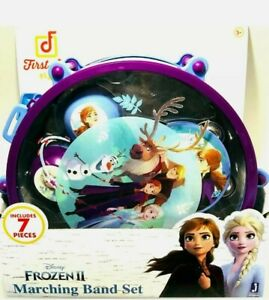 First Act Play: Junior Frozen 2 Marching Band Drum Set  NEW (7-Piece)