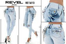 colombian jeans REVEL , pantalon levanta cola,butt lift  jeans ,jeans colombiano