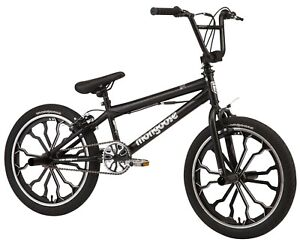 """20"""" Rebel BMX Bike Sturdy Frame w/ Front Pegs, Ages 8-12, Rider Height 4'2""""+"""