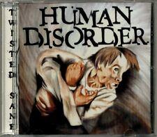 Human Disorder - Twisted Sane  MEGA RARE OOP ORIG 1996 Canadian Metal CD (Mint!)