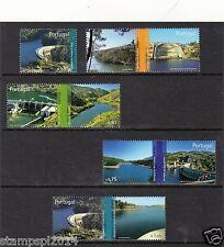 PORTUGAL SET PORTUGUESE DAMS (2007) MNH (**)