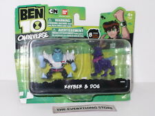 BANDAI BEN 10 OMNIVERSE KHYBER & DOG 32692 NEW ON CARD RARE