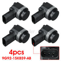 4x Front Rear PDC Parking Sensor For Ford C-Max Fiesta Land Rover 9G92-15K859-AB