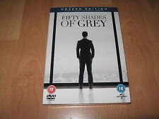 ✭ Fifty Shades of Grey DVD movie UNSEEN and THEATRICAL  EDITIONS ✭
