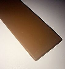 300mm UPVC PVC Light Oak Caramel Fascia Board End Cap / Window Sill Cill End Cap