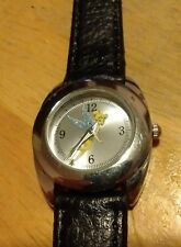 Tinkerbell Disney watch, running with new battery new Leather band J