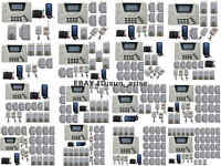 U30 103 Zones GSM SMS PSTN Wireless & Wired Home Alarm Security System Auto Dial