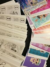 **NEW** Panini LOL SURPRISE Stickers (Numbers 101-200) L.O.L - Buy 4 Get 10 Free