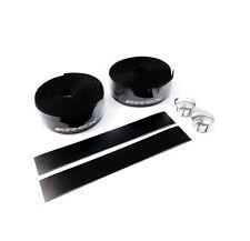 KREX 2057-566 Road Bike Bicycle Cycling Handlebar Tape with Plugs - Black