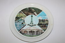 Vintage Kings Island Amusement Park Metal Tray Log Flume Salt Water Circus