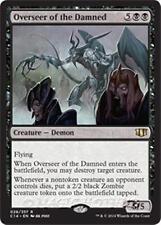 OVERSEER OF THE DAMNED Commander 2014 MTG Black Creature — Demon Zombie Rare