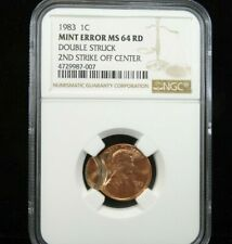 Lincoln Memorial NGC US Error Penny Coins for sale | eBay