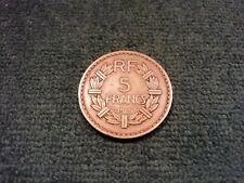 1 pièce de 5 Francs Lavrillier 1945 Bronze-Alu