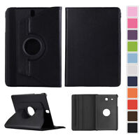 360 Rotating PU Leather Case Cover Skin For Samsung Galaxy Tab S S2 S3 Tablet