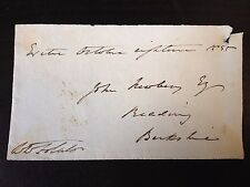 WILLIAM WEBB FOLLETT - POLITICIAN AND GREAT LAWYER - SIGNED ENVELOPE FRONT