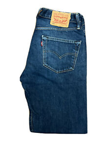 Original Levi's 501® Classic Straight Leg Blue Denim Jeans W32 L32 ES 8289