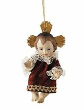 Religious Gifts Risen Infant Jesus Christ in Gown Christmas Ornament, 4 3/4 Inch